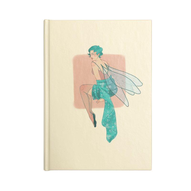 Pin-up Pixie Accessories Blank Journal Notebook by Kobrah's Artist Shop
