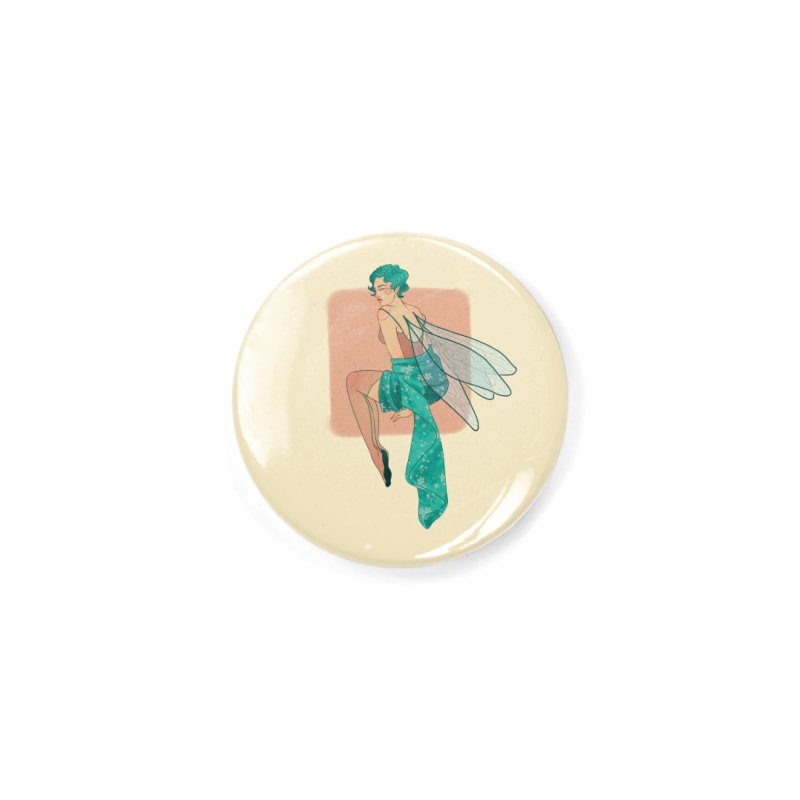 Pin-up Pixie Accessories Button by Kobrah's Artist Shop