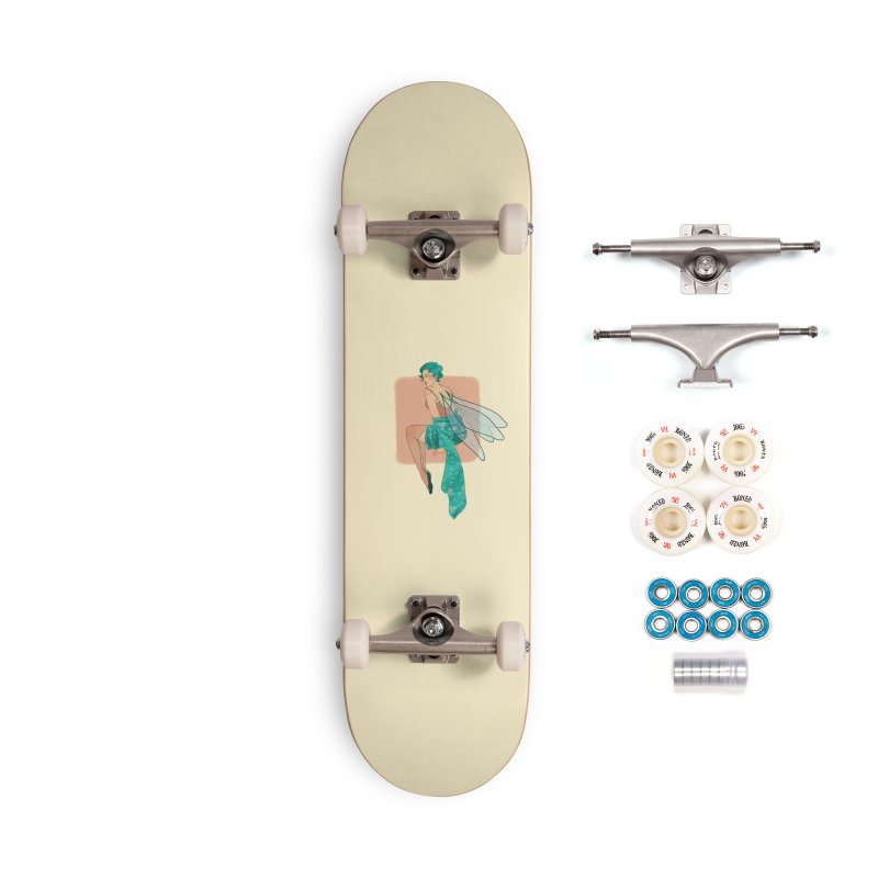 Pin-up Pixie Accessories Complete - Premium Skateboard by Kobrah's Artist Shop