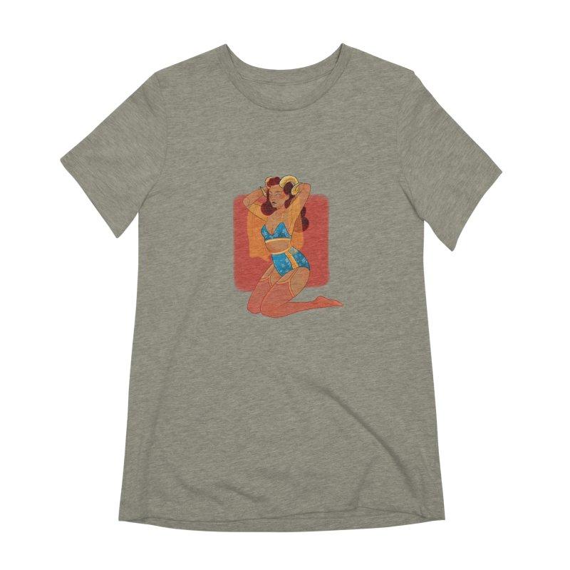 Centaur Pin-up Women's Extra Soft T-Shirt by Kobrah's Artist Shop