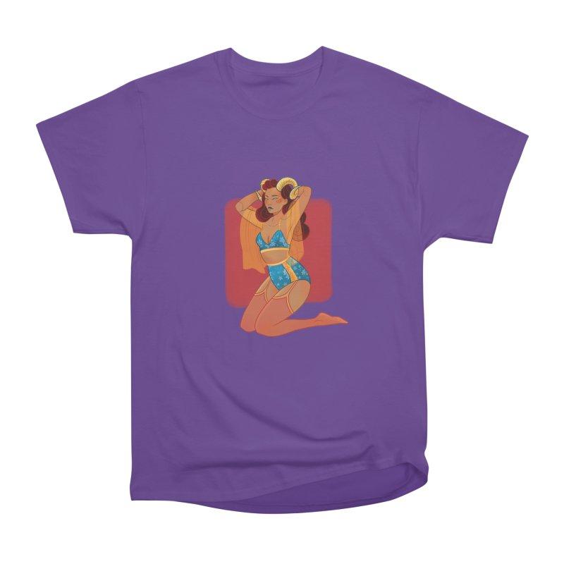 Centaur Pin-up Men's Heavyweight T-Shirt by Kobrah's Artist Shop