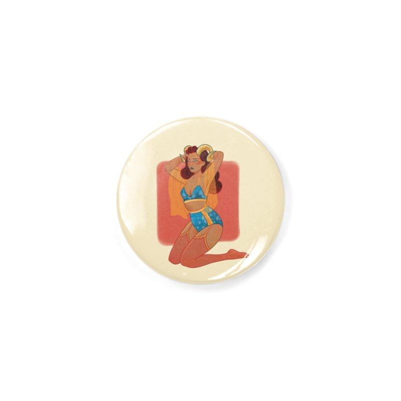 Centaur Pin-up Accessories Button by Kobrah's Artist Shop