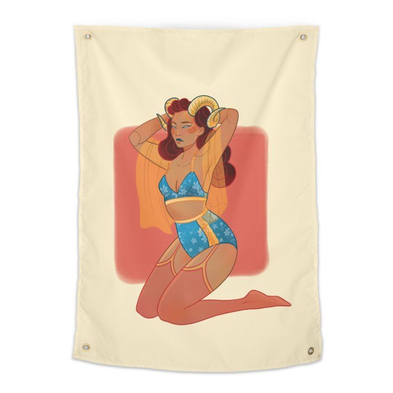 Centaur Pin-up Home Tapestry by Kobrah's Artist Shop