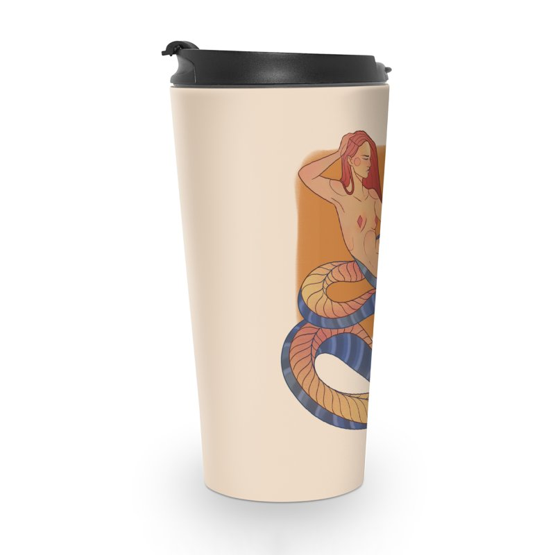 Mythical Pin-up Accessories Travel Mug by Kobrah's Artist Shop