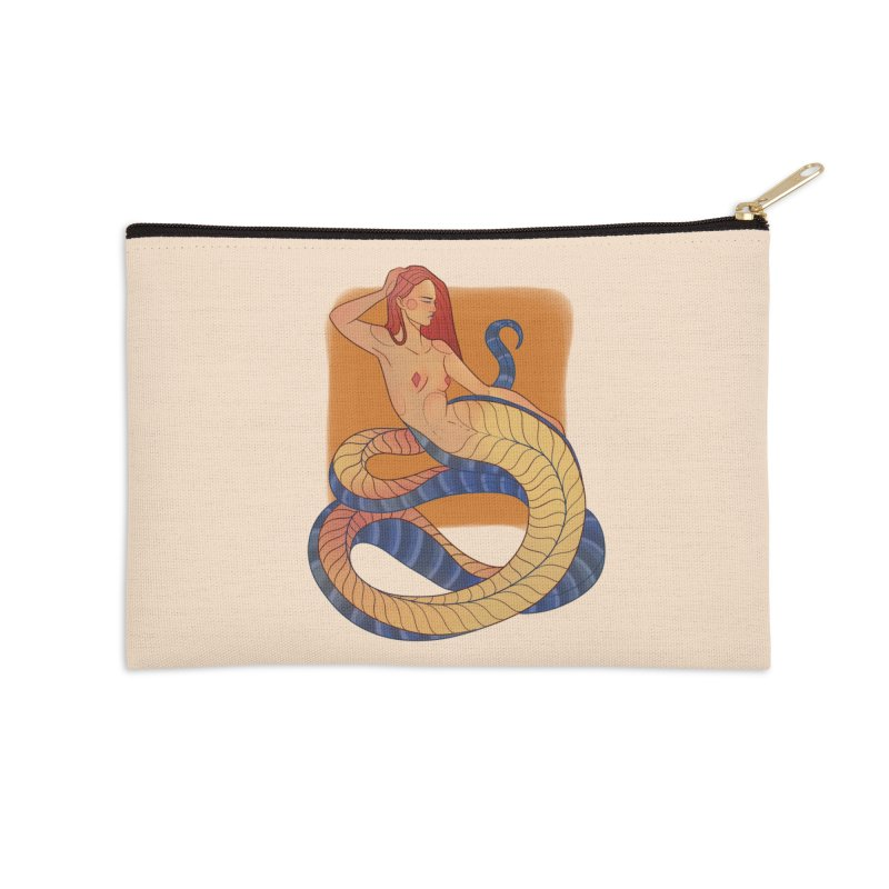 Mythical Pin-up Accessories Zip Pouch by Kobrah's Artist Shop