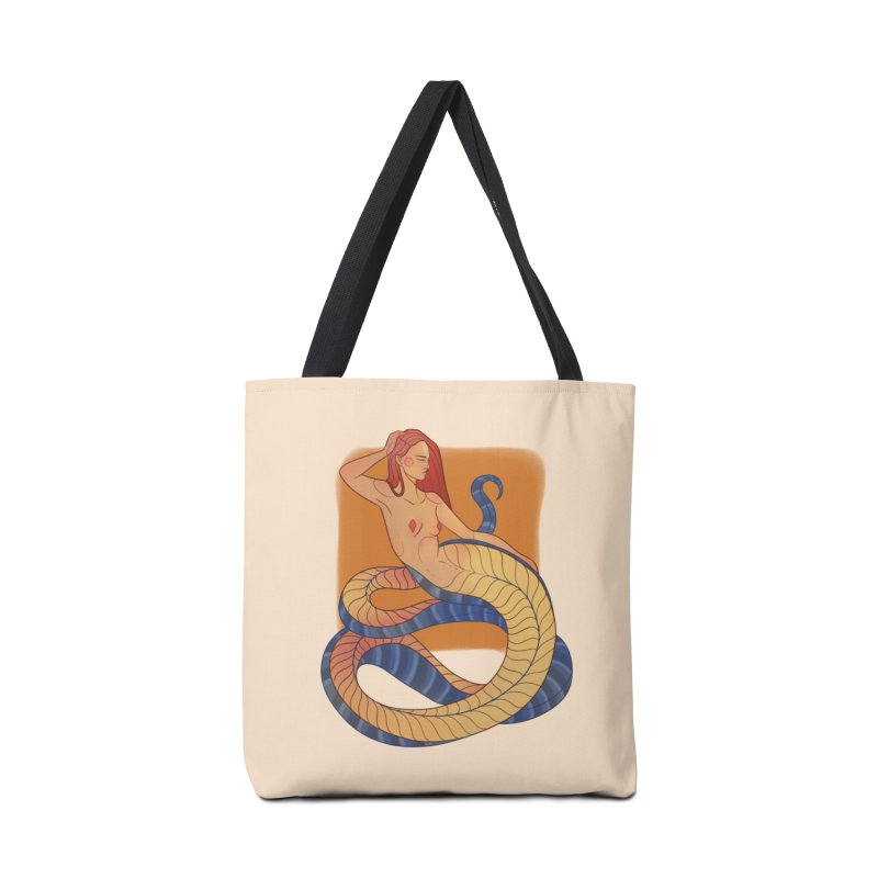 Mythical Pin-up Accessories Tote Bag Bag by Kobrah's Artist Shop