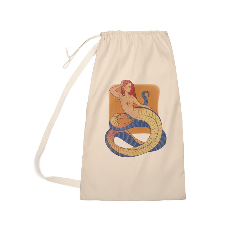 Mythical Pin-up Accessories Laundry Bag Bag by Kobrah's Artist Shop