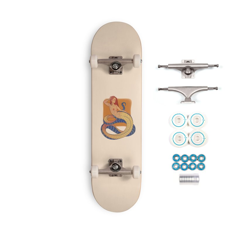 Mythical Pin-up Accessories Complete - Basic Skateboard by Kobrah's Artist Shop