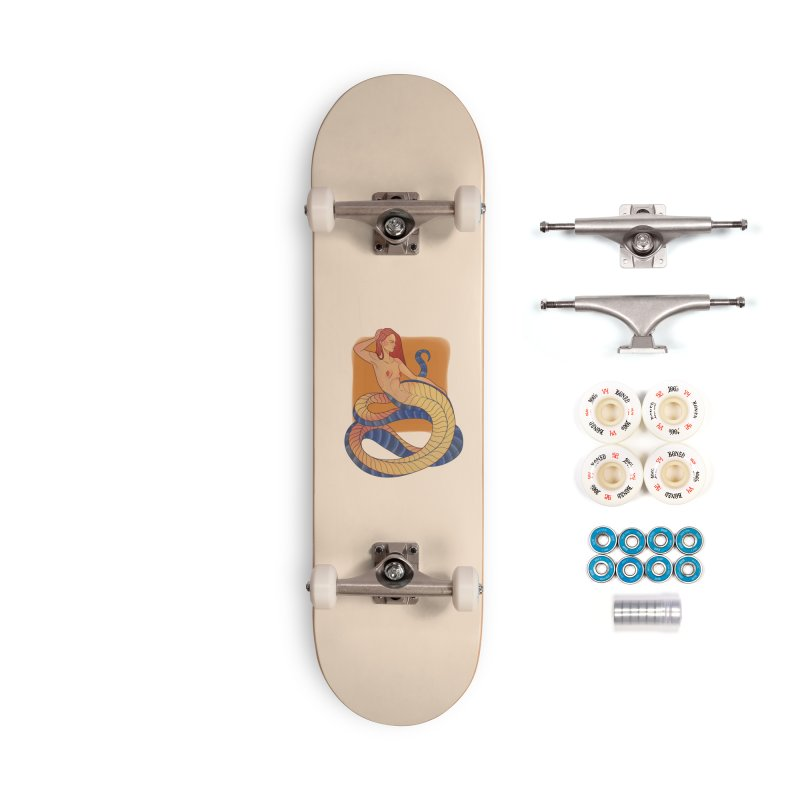 Mythical Pin-up Accessories Complete - Premium Skateboard by Kobrah's Artist Shop