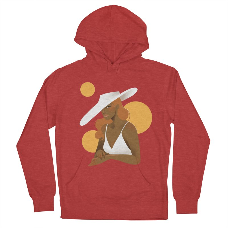 Fashion Women's French Terry Pullover Hoody by Kobrah's Artist Shop