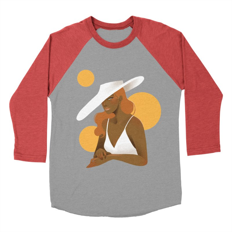 Fashion Women's Baseball Triblend Longsleeve T-Shirt by Kobrah's Artist Shop