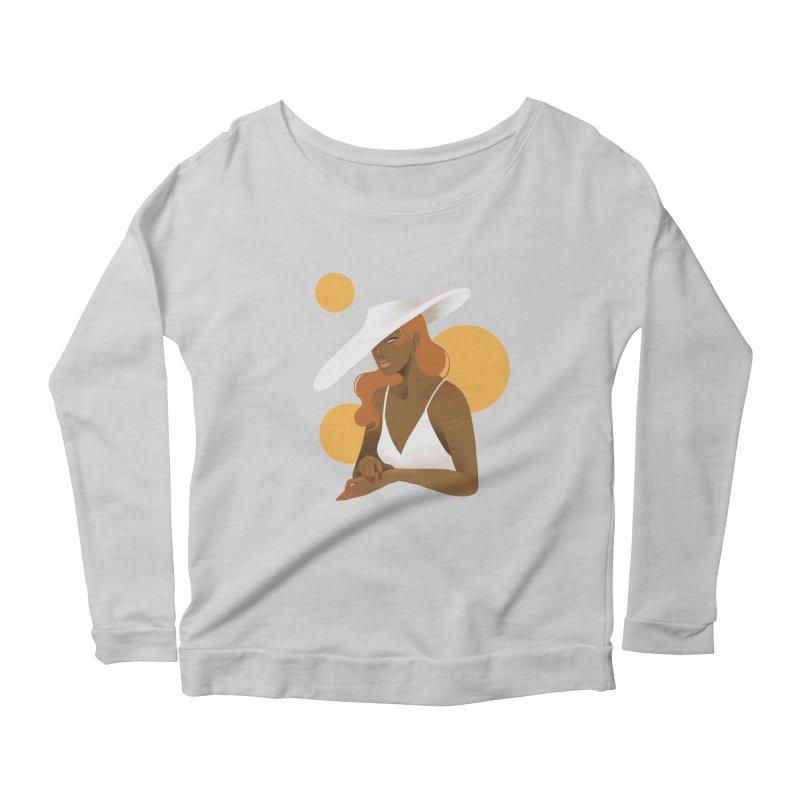 Fashion Women's Scoop Neck Longsleeve T-Shirt by Kobrah's Artist Shop