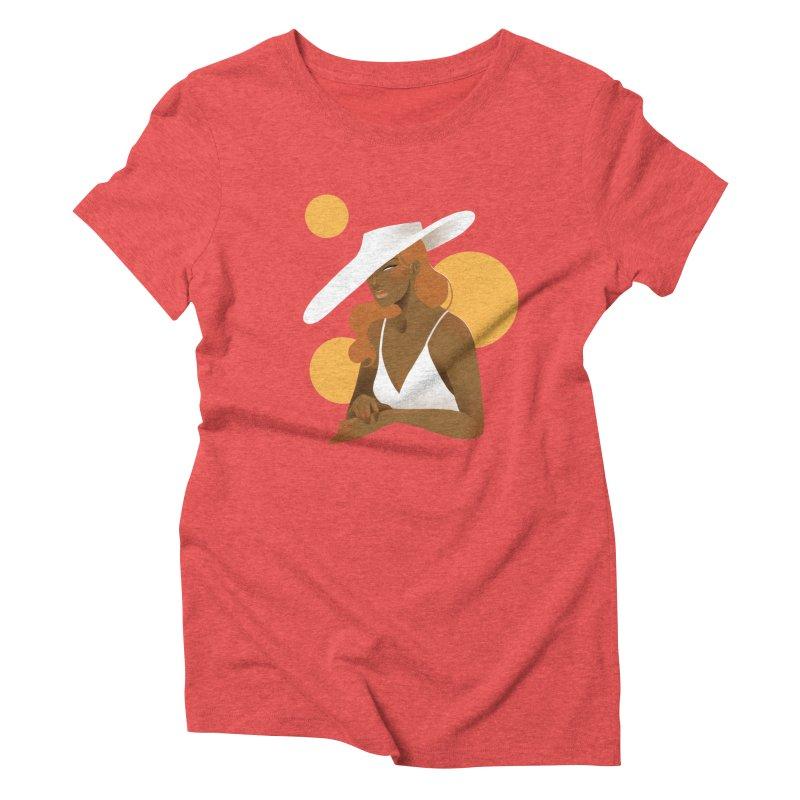 Fashion Women's Triblend T-Shirt by Kobrah's Artist Shop