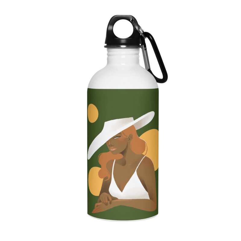 Fashion Accessories Water Bottle by Kobrah's Artist Shop