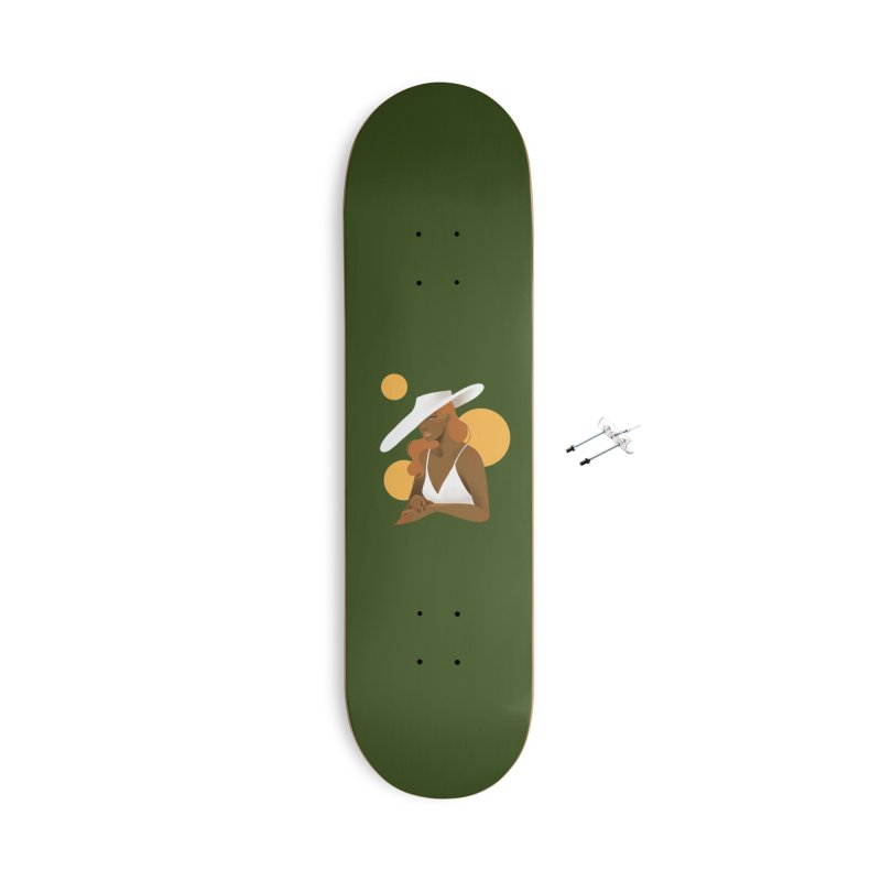 Fashion Accessories With Hanging Hardware Skateboard by Kobrah's Artist Shop