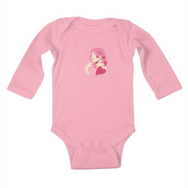 Duh Kids Baby Longsleeve Bodysuit by Kobrah's Artist Shop