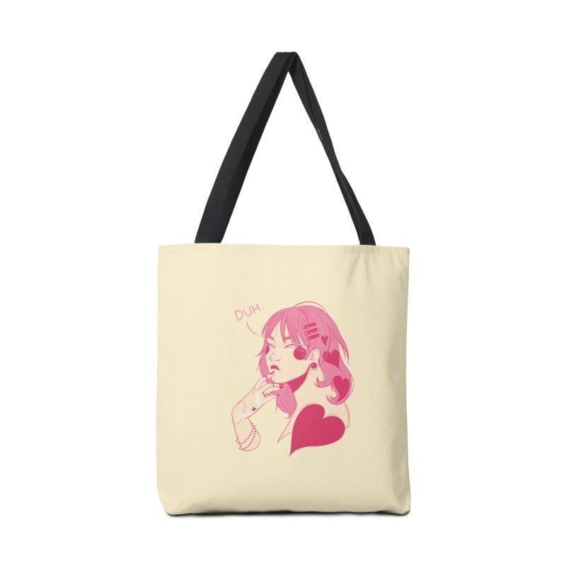 Duh Accessories Tote Bag Bag by Kobrah's Artist Shop