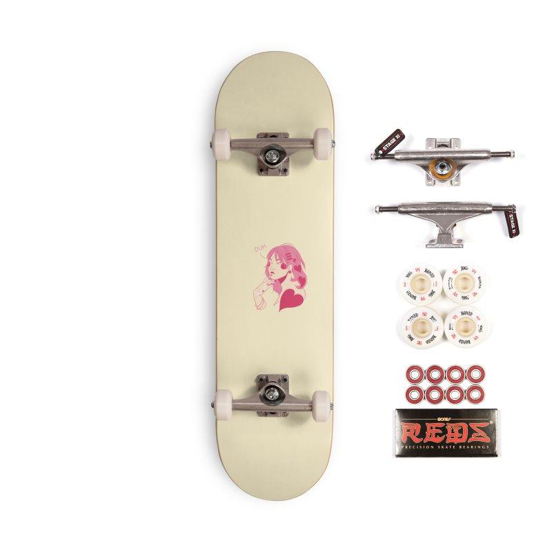 Duh Accessories Complete - Pro Skateboard by Kobrah's Artist Shop