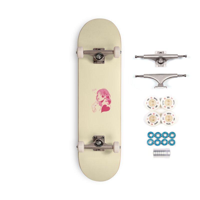 Duh Accessories Complete - Premium Skateboard by Kobrah's Artist Shop
