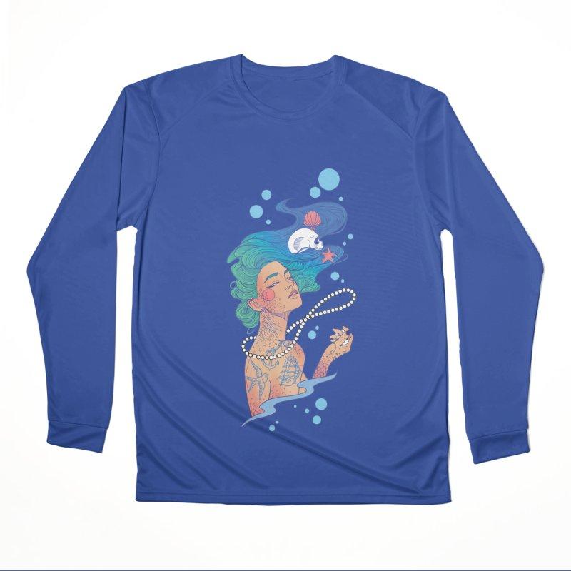 Siren Men's Performance Longsleeve T-Shirt by Kobrah's Artist Shop