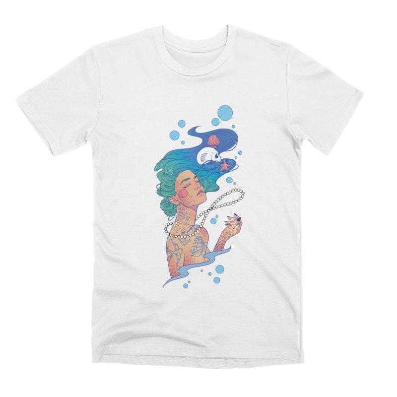 Siren Men's Premium T-Shirt by Kobrah's Artist Shop
