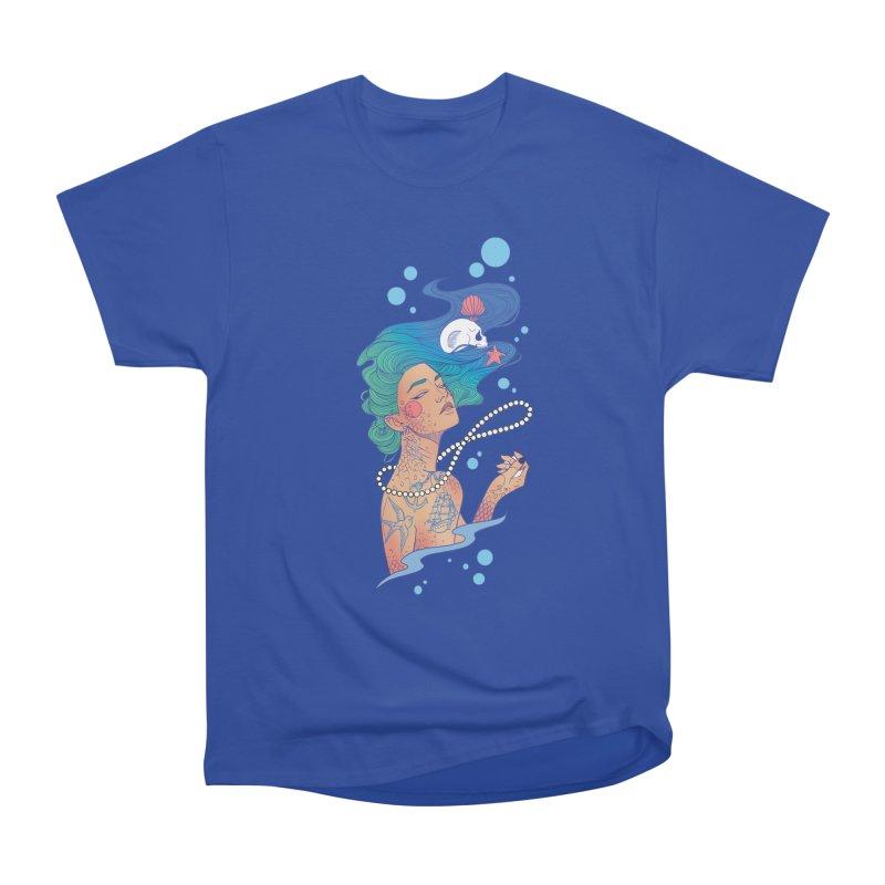 Siren Women's Heavyweight Unisex T-Shirt by Kobrah's Artist Shop