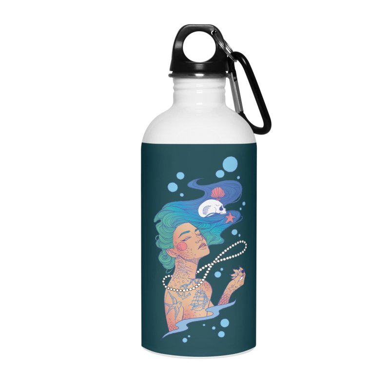 Siren Accessories Water Bottle by Kobrah's Artist Shop