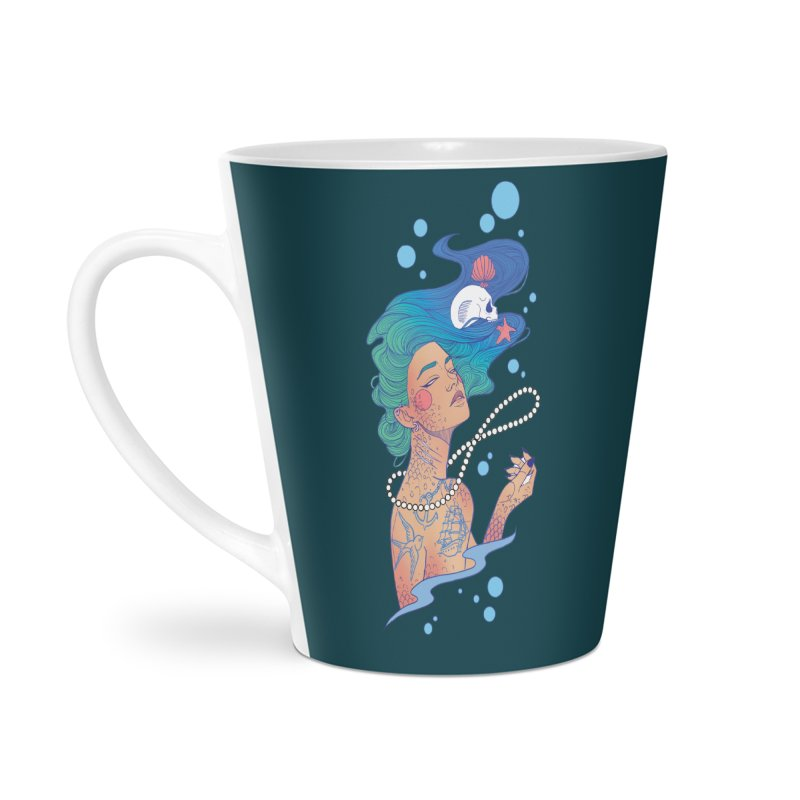 Siren Accessories Latte Mug by Kobrah's Artist Shop