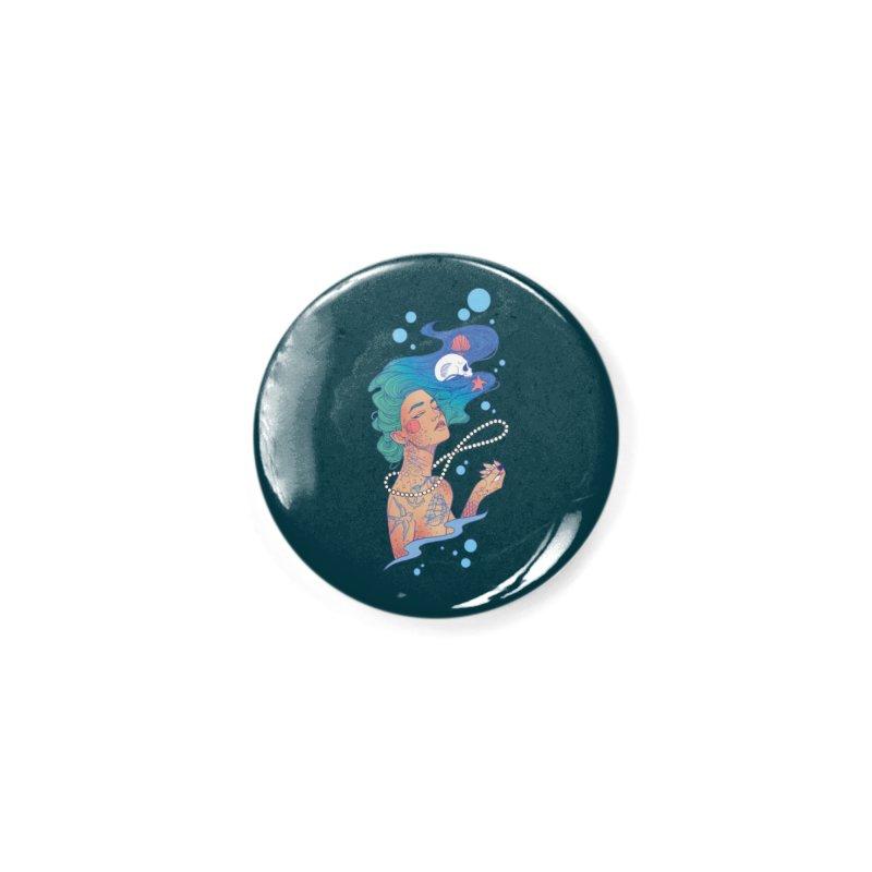 Siren Accessories Button by Kobrah's Artist Shop