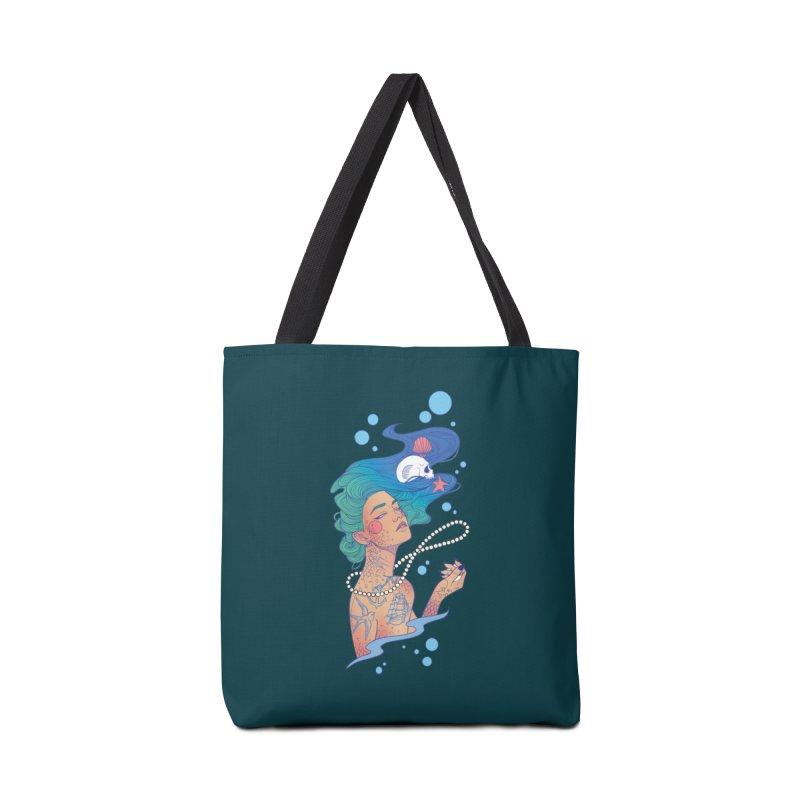 Siren Accessories Tote Bag Bag by Kobrah's Artist Shop