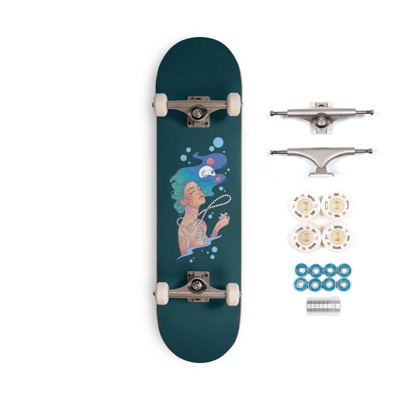 Siren Accessories Complete - Premium Skateboard by Kobrah's Artist Shop