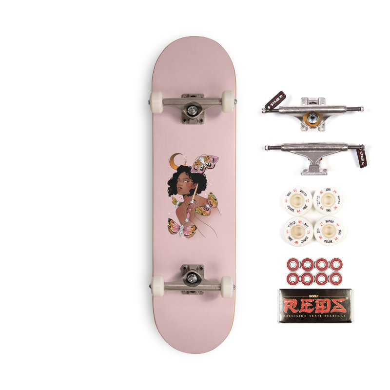 Moths and Dagger Accessories Complete - Pro Skateboard by Kobrah's Artist Shop