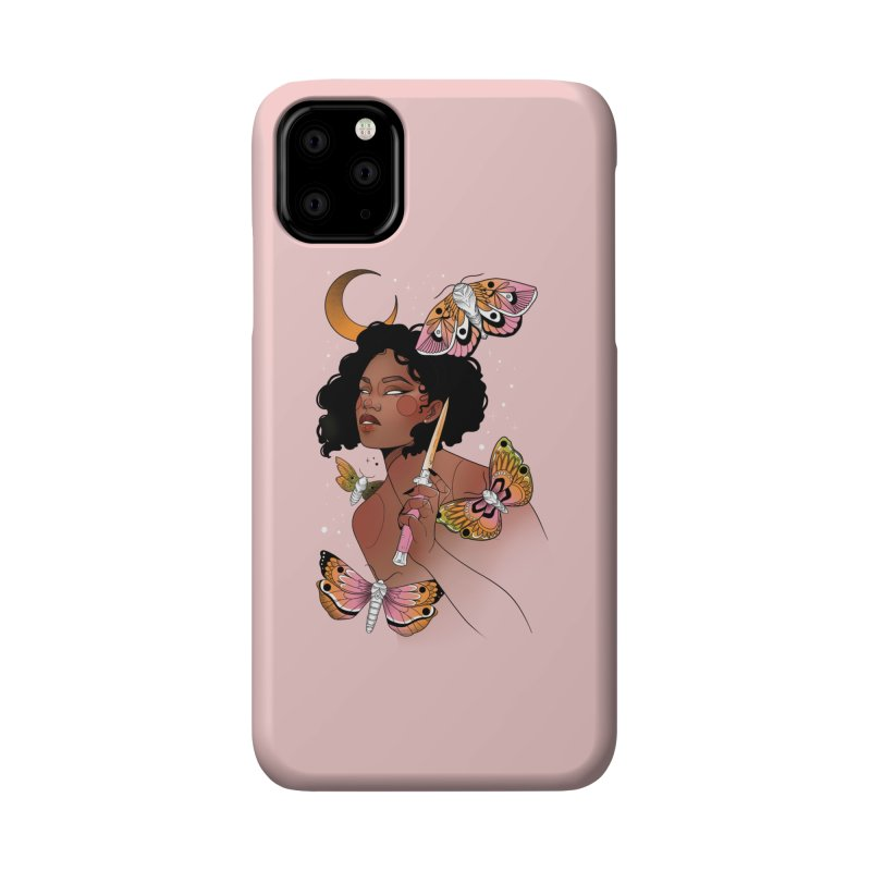 Moths and Dagger Accessories Phone Case by Kobrah's Artist Shop