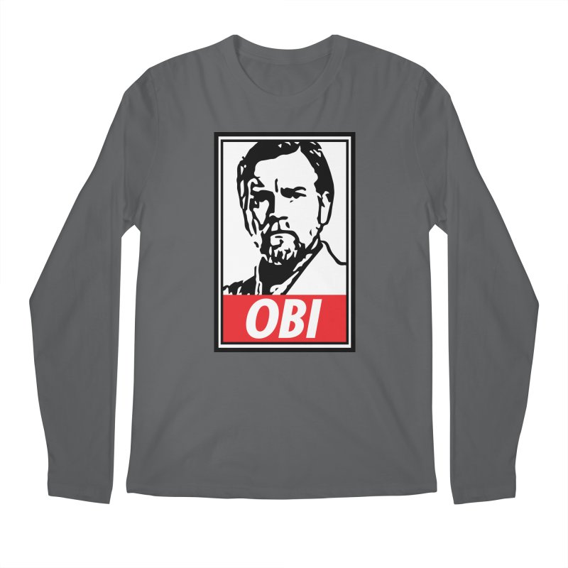 OBI Men's Longsleeve T-Shirt by kodeapparel's Artist Shop