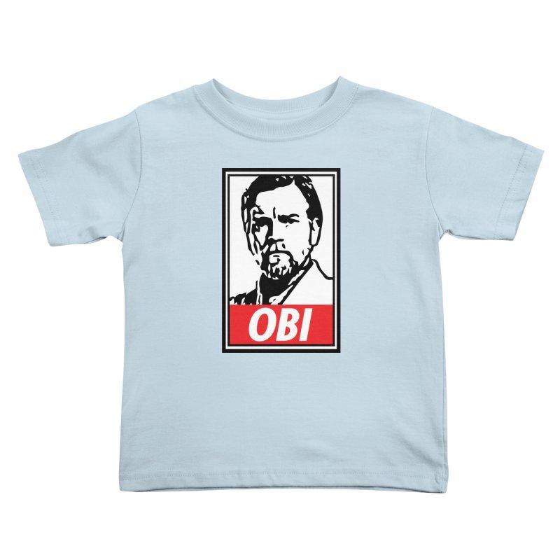 OBI Kids Toddler T-Shirt by kodeapparel's Artist Shop