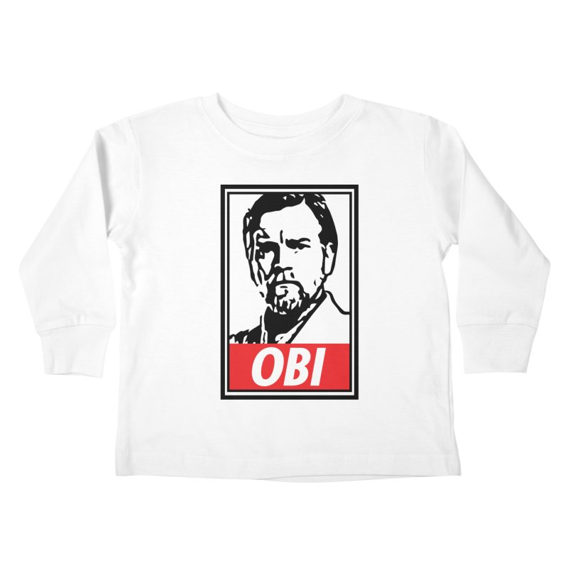 OBI Kids Toddler Longsleeve T-Shirt by kodeapparel's Artist Shop