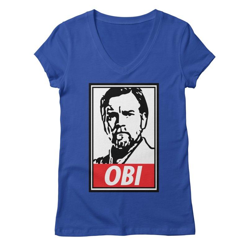 OBI Women's V-Neck by kodeapparel's Artist Shop