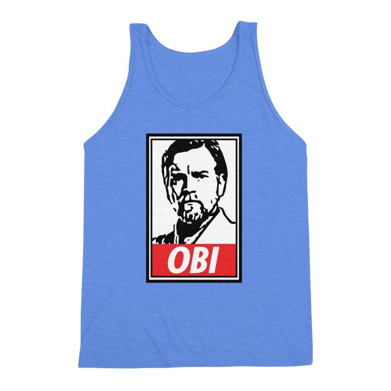OBI Men's Triblend Tank by kodeapparel's Artist Shop