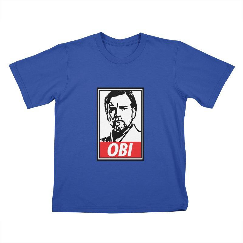 OBI Kids T-Shirt by kodeapparel's Artist Shop