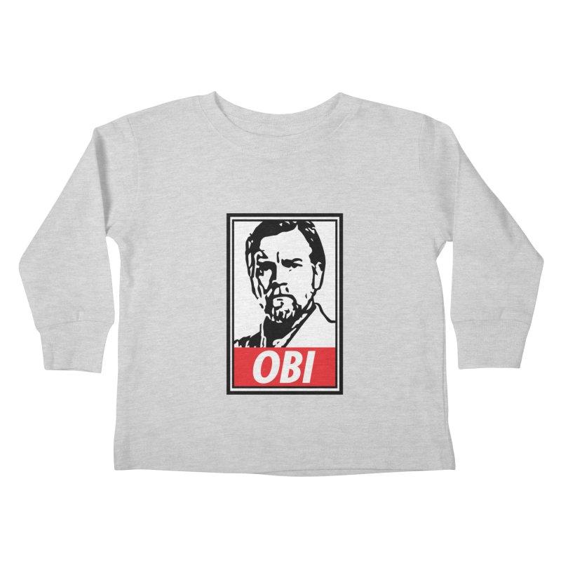 OBI Kids Toddler Longsleeve T-Shirt by kodeapparel's Artist Shop