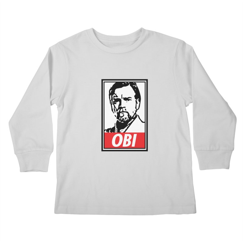 OBI Kids Longsleeve T-Shirt by kodeapparel's Artist Shop