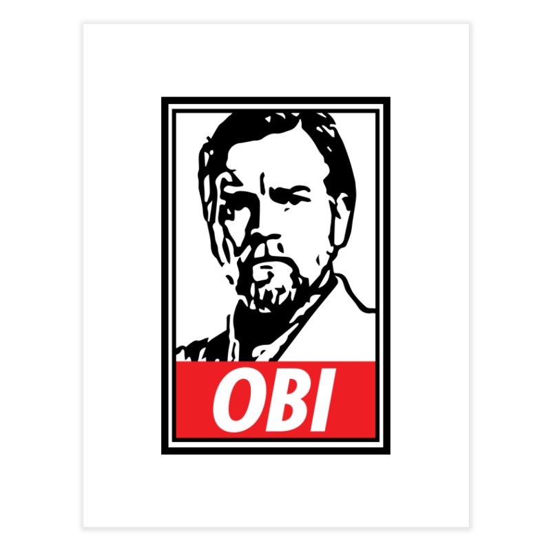OBI Home Fine Art Print by kodeapparel's Artist Shop