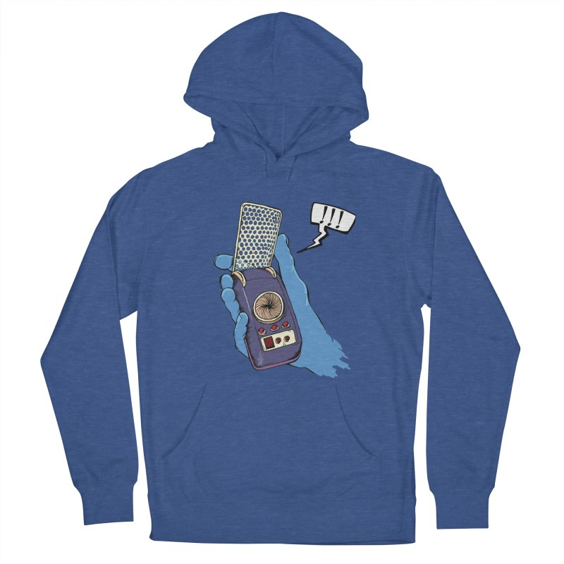 Bad Communication Men's Pullover Hoody by Kodi Sershon