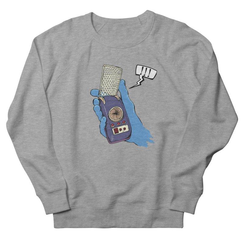 Bad Communication Women's French Terry Sweatshirt by Kodi Sershon