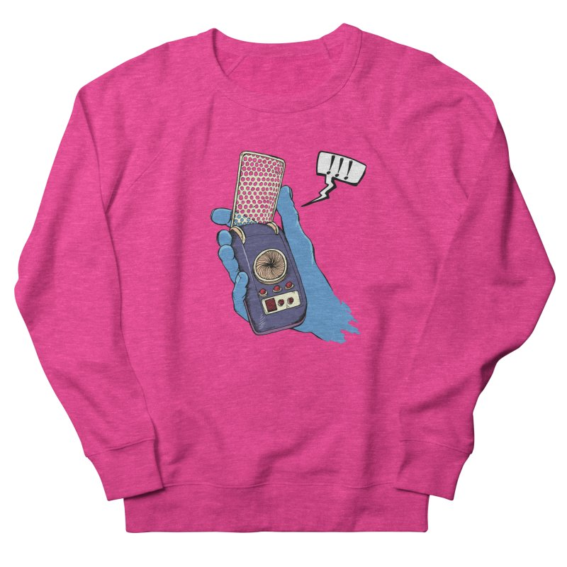 Bad Communication Men's Sweatshirt by Kodi Sershon