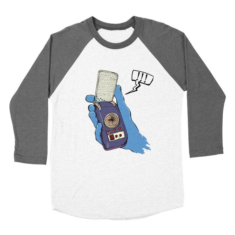 Bad Communication Women's Baseball Triblend T-Shirt by Kodi Sershon