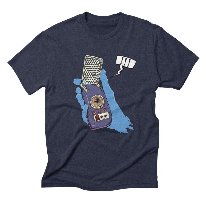 Bad Communication Men's Triblend T-shirt by Kodi Sershon