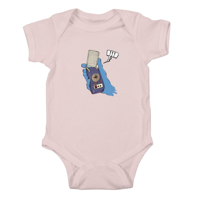 Bad Communication Kids Baby Bodysuit by Kodi Sershon