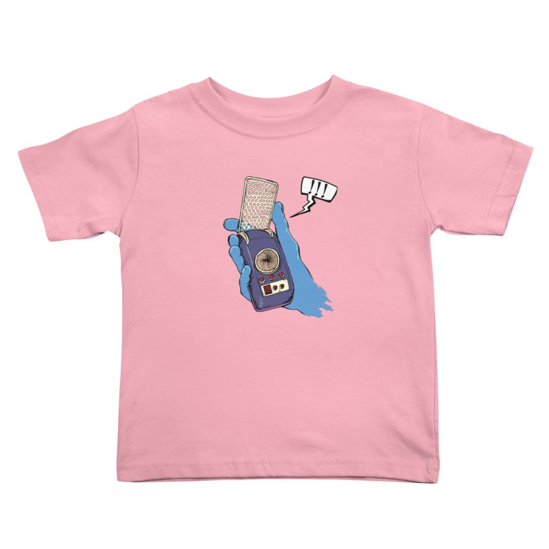 Bad Communication Kids Toddler T-Shirt by Kodi Sershon