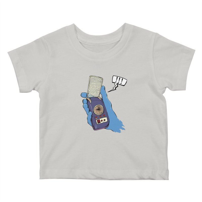 Bad Communication Kids Baby T-Shirt by Kodi Sershon